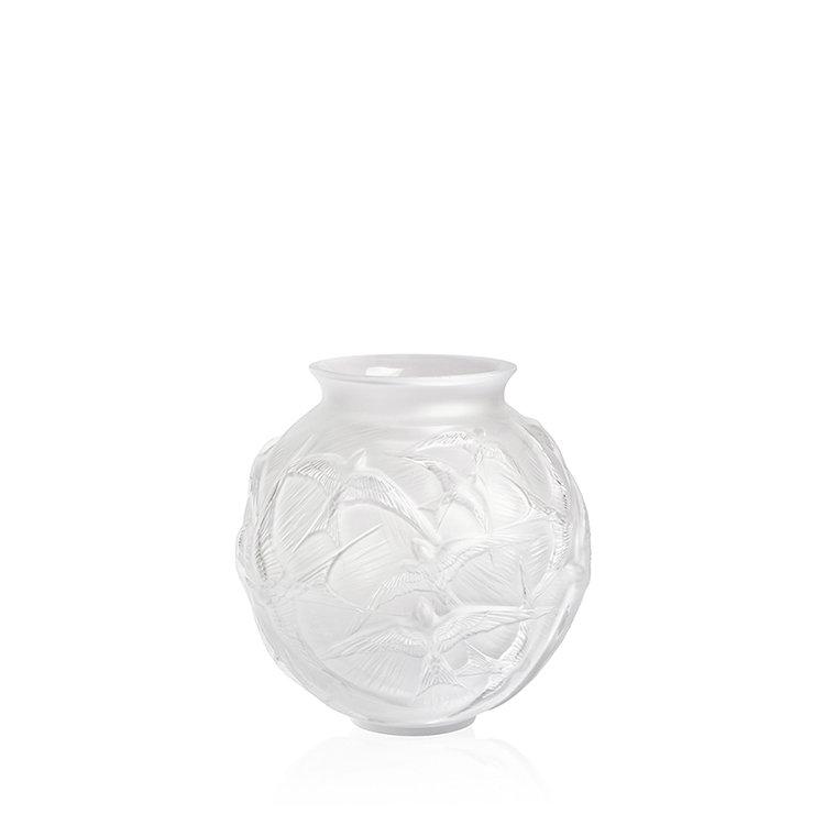 Lalique-hirondelles-medium-vase