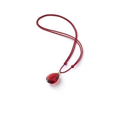 Marie-Hélène de Taillac-pendentif-rouge-cristal