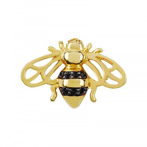 Pins-abeille-cristaux-Swarovski