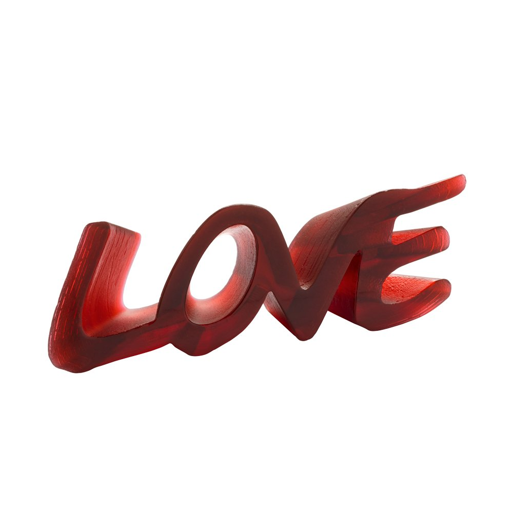 Sculpture-love-cristal-Daum