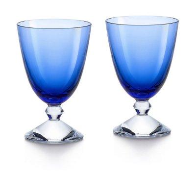 Vega-verre-bas-cristal-bleu-Baccarat