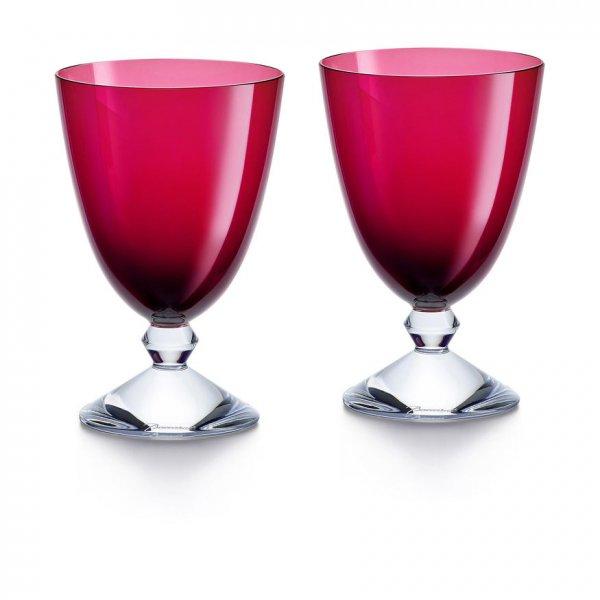 Vega-verre-bas-rouge-Baccarat