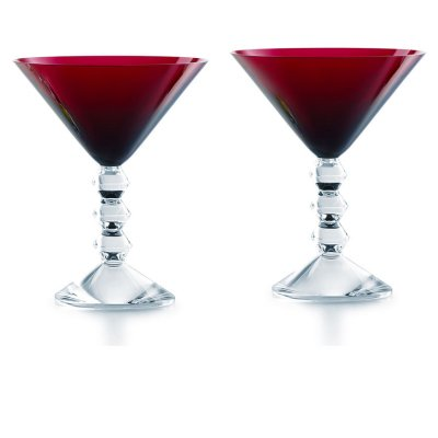 Vega-verre-rouge-Baccarat