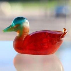 sculpture canard colvert Daum France