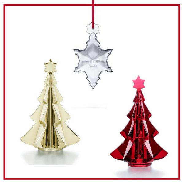 Baccarat Christmas Decoration L Vessiere Cristaux