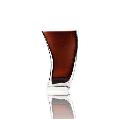 Vase-cristal-de-boheme-marron