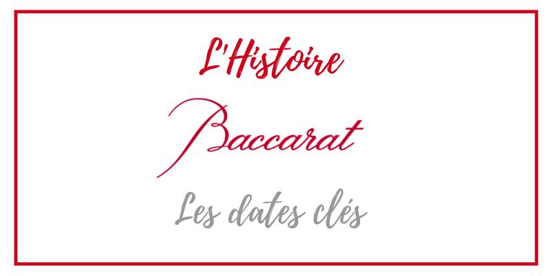 Histoire-Baccarat-dates-cles