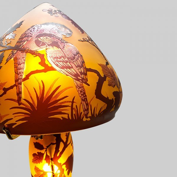 Lampe-Typ-Gale-Perroquet