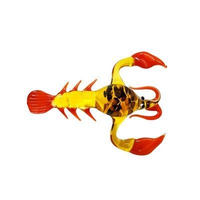 Sculpture-homard-verre
