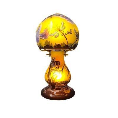 Typ-Galle-lampe-champignon