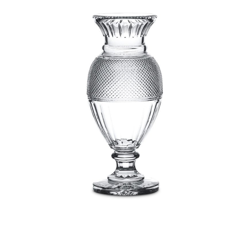 Diamant Baluster Vase Baccarat Vessiere Cristaux