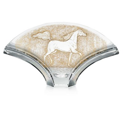Vase-ginkgo-cheval-Baccarat