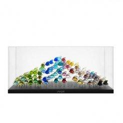 aquarium-100-poissons-Lalique-multicolors