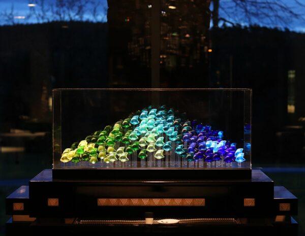 aquarium 100 poissons lalique france