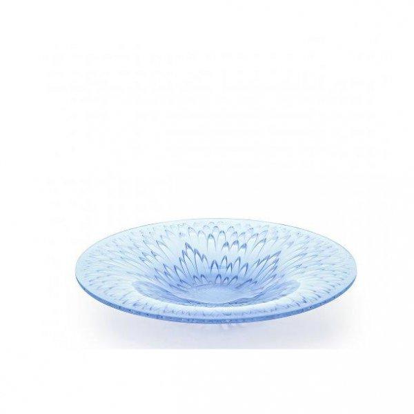 Coupe-flora-bella-bleu-lavande-Lalique