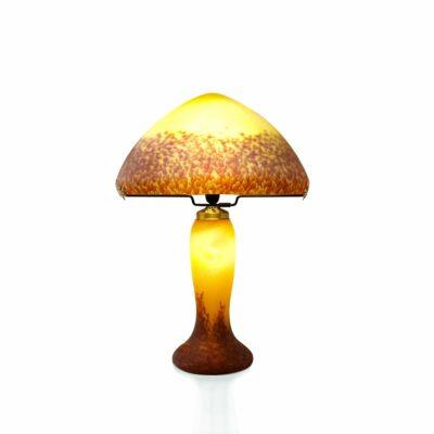 Lampe-pate-de-verre-ivoire