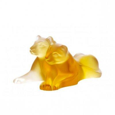 lalique-lionceaux-tambwee-ambre