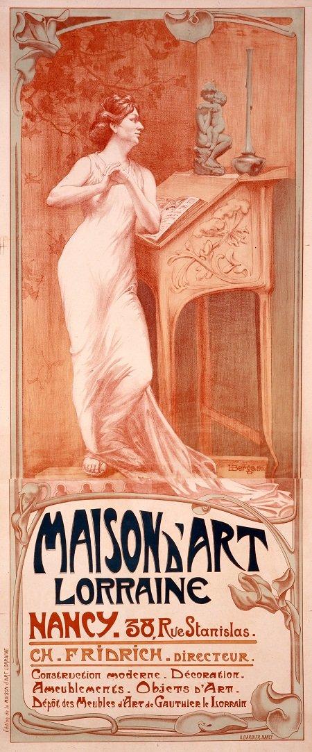 Henri-Bergé-Affiche-pour-la-Maison-dArt-Lorraine-c-musée-d