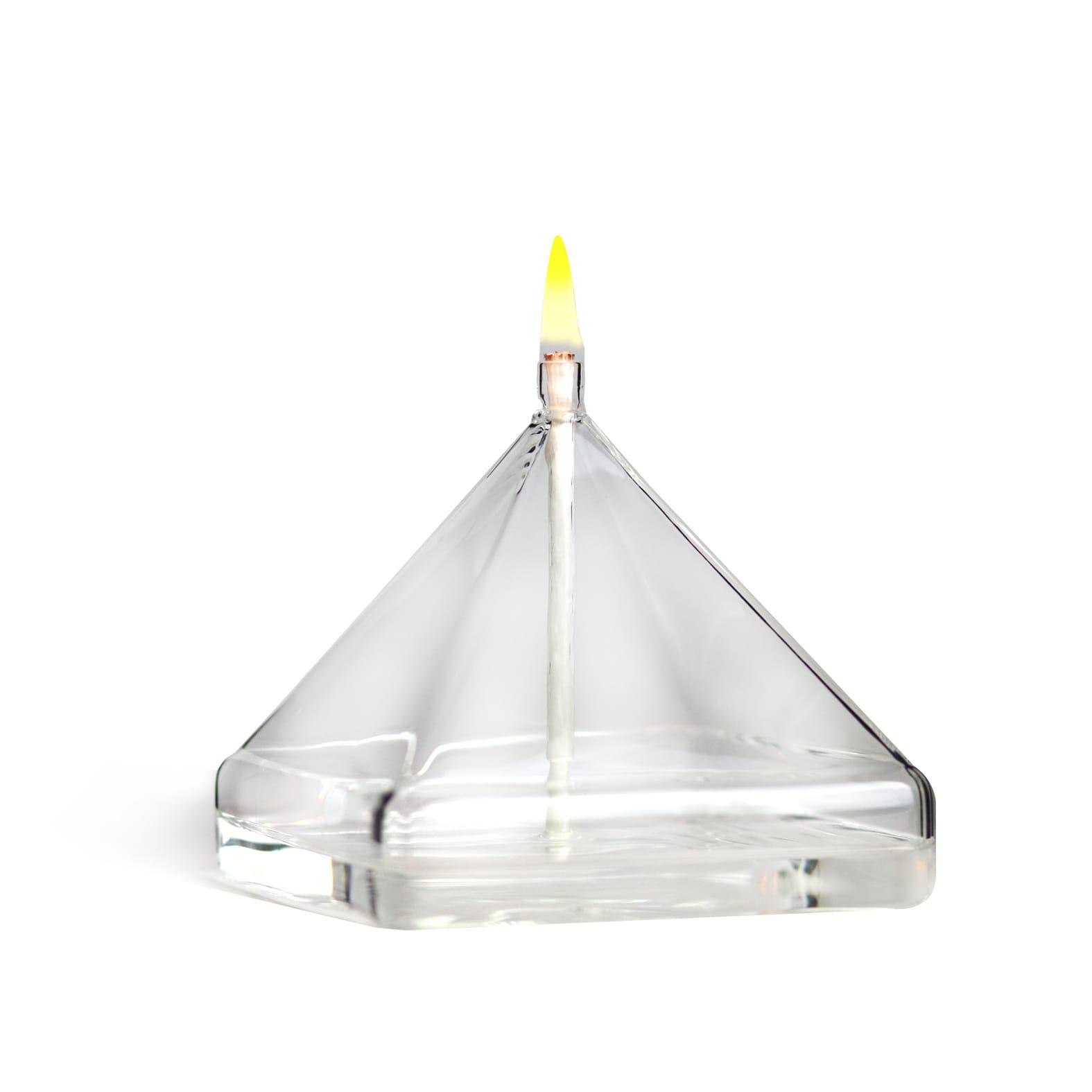 2 Niveau Boîte à Bijou en Verre Forme en Pyramide pour Collier Bracelet