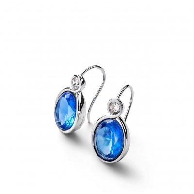 Boucles-oreilles-cristal-bleu-croise-Baccarat