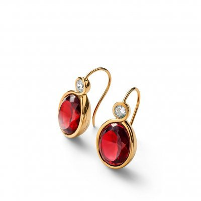 Boucles-oreilles-cristal-rouge-croise-Baccarat