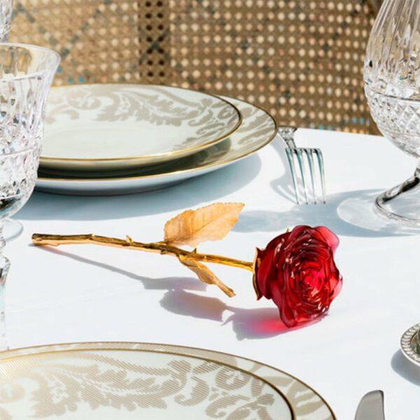 Fleur-rose-cristal-or-Daum