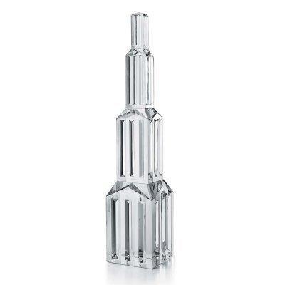 Metropolis-sculpture-cristal-Baccarat