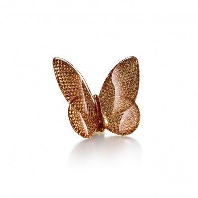 Papillon-diamant-dore-cristal-Baccarat