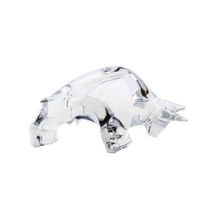 Taureau-cristal-clair-Baccarat