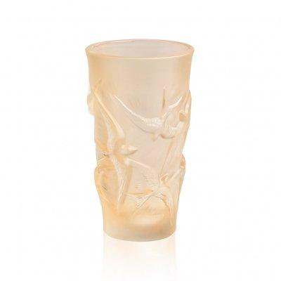 Vase-Hirondelles-PM-lustré-or-Lalique