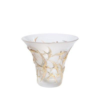 Vase-hirondelles-tamponne-or-Lalique