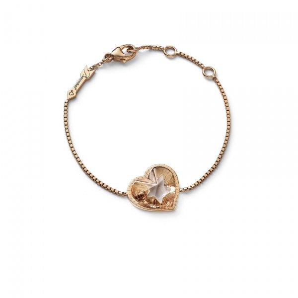 Bracelet-cristal-clair-vermeil-Baccarat