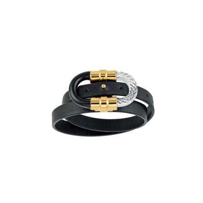 lalique-1927-bracelet-lien-cuir-or-