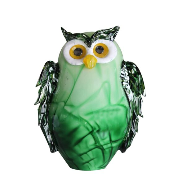 lampe-chouette-cristal-vert-lehrer