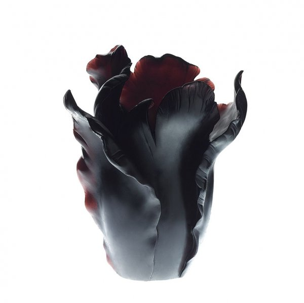 vase-tulipe-noir-appaloosa-Daum