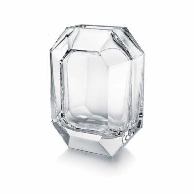 vase-octogone-cristal-clair-Baccarat