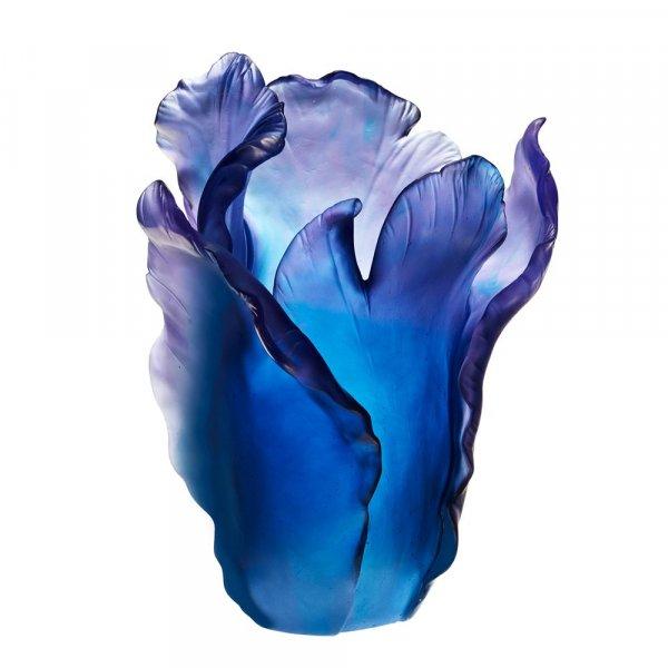 vase-tulipe-bleu-Daum