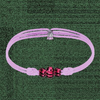 bracelet-perles-rose-cordon