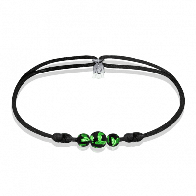 bracelet-perles-vert