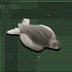 tortue luth en cristal daum