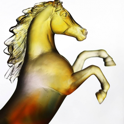 sculpture-cheval-cristal-daum-france
