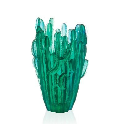 vase en crista Cactus par Emilio Robba et Daum
