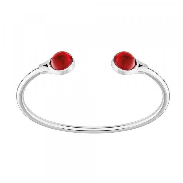 bracelet-flexible-cabochon-rouge-lalique