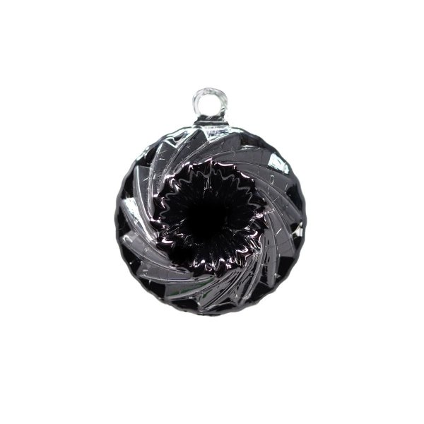 boule de noel cristal 2019 noir