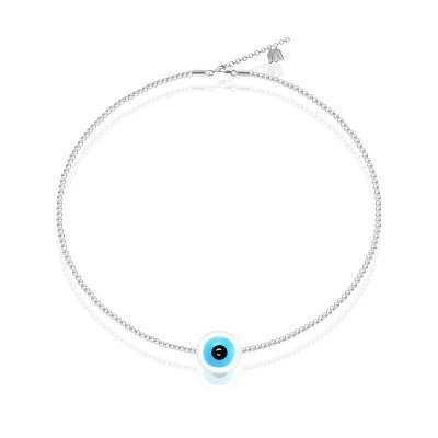 bracelet-argent-evil-eye-bleu