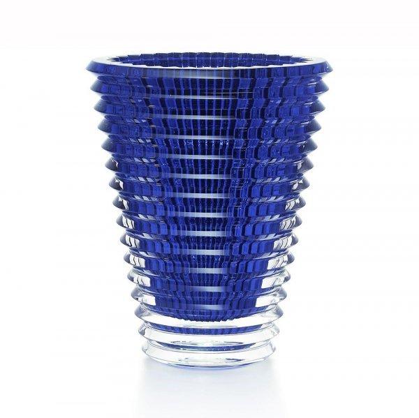 vase bleu en cristal Baccarat collection Eye
