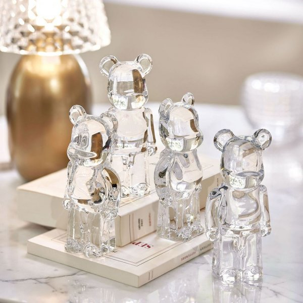 bearbrick-ourson-cristal-clair-baccarat