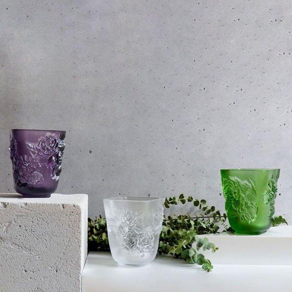 collection de vase pivoine lalique france