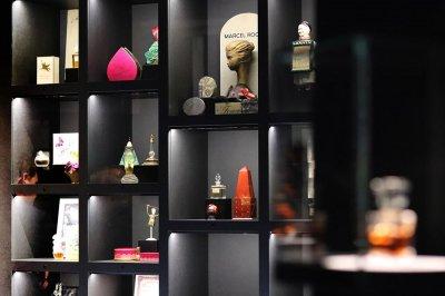 visite exposition musee flacon de parfum de baccarat