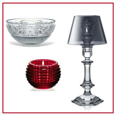 Coupes et coupelles / Bougeoirs / photophores - Baccarat